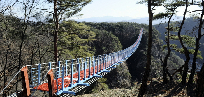 Wonju Sogeumsan Suspension Bridge One Day Tour