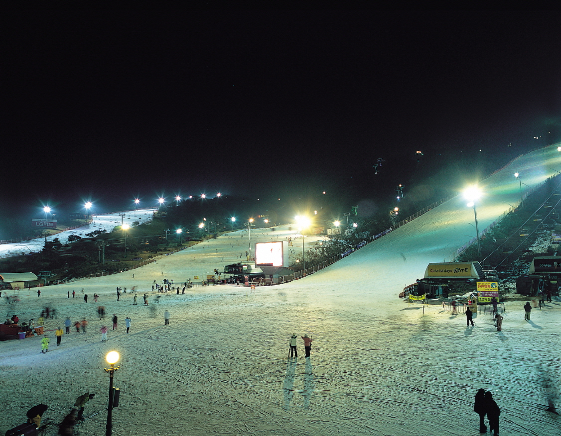 (Winter) Vivaldi Park Ski World Night Ski Tour