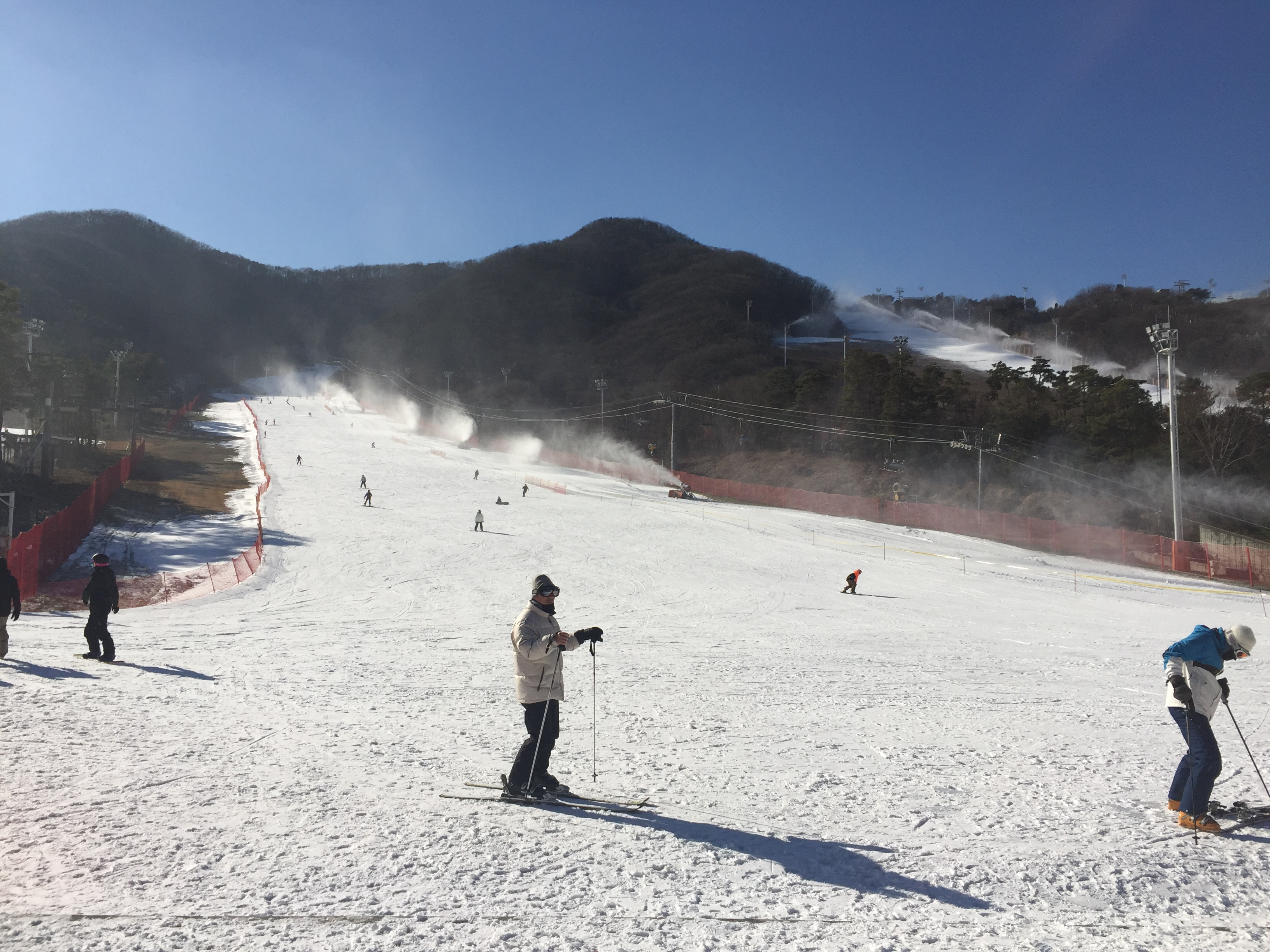 (Winter) Jisan Forest Ski Resort One Day Tour