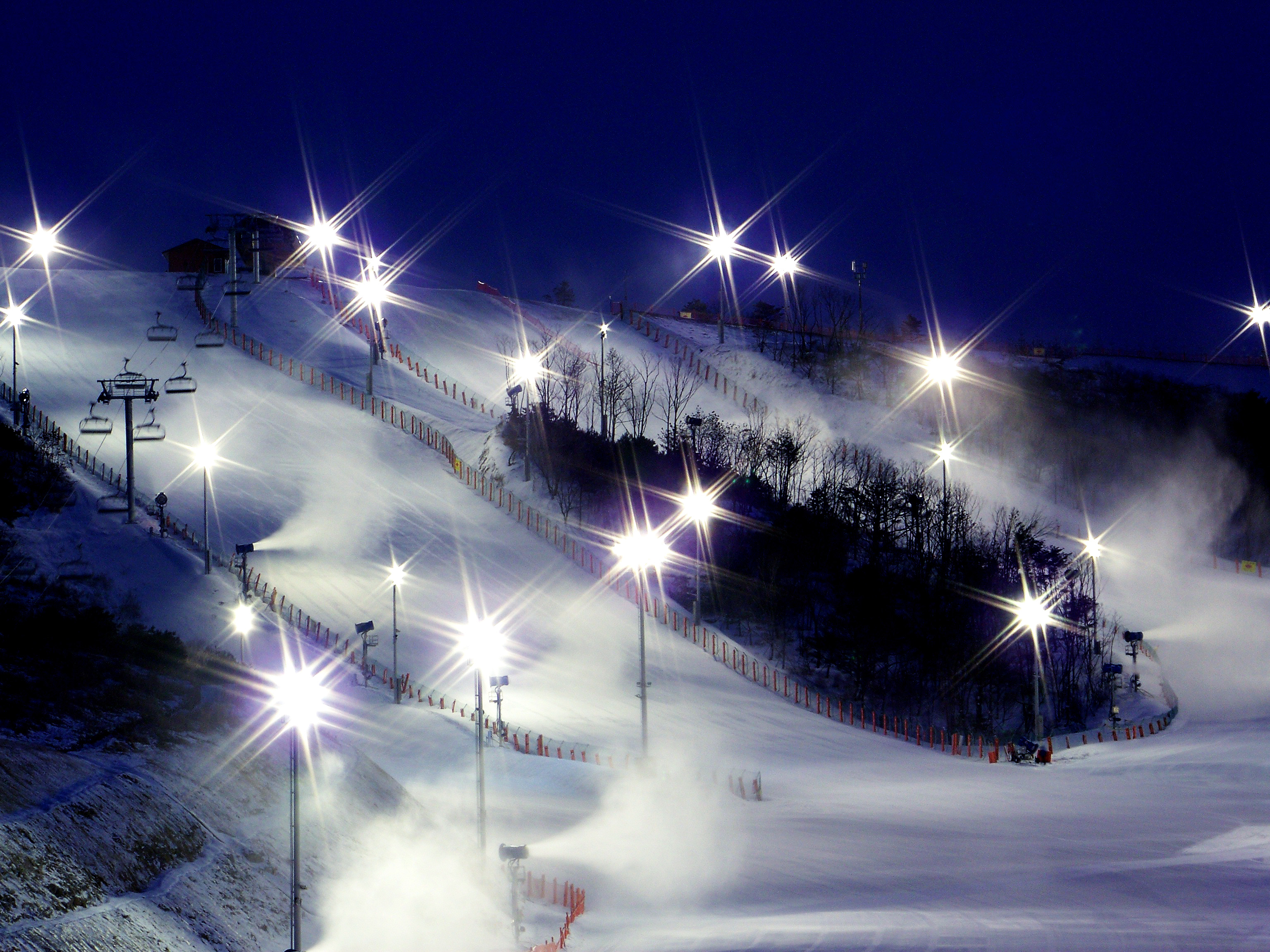 (Winter) Eden Valley Ski Resort Night Ski Tour