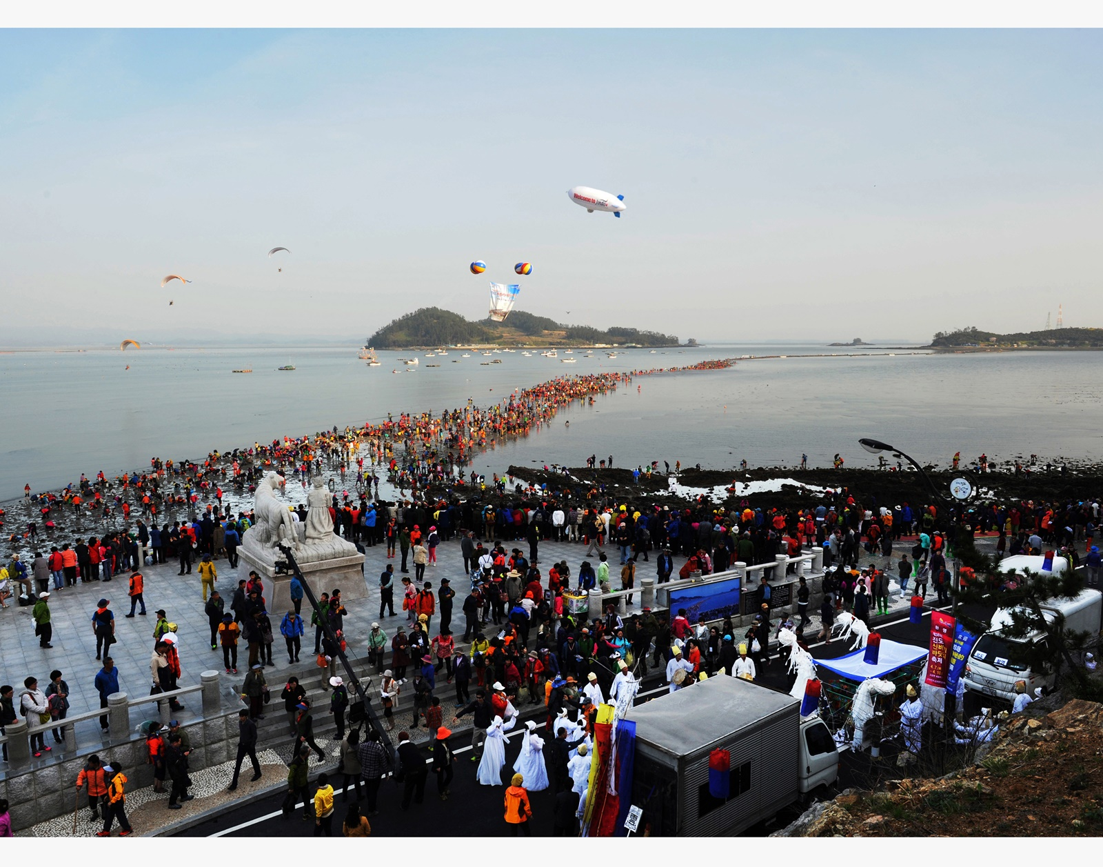 (Spring) 2020 Jindo Miracle Sea Road Festival - Depart from Busan