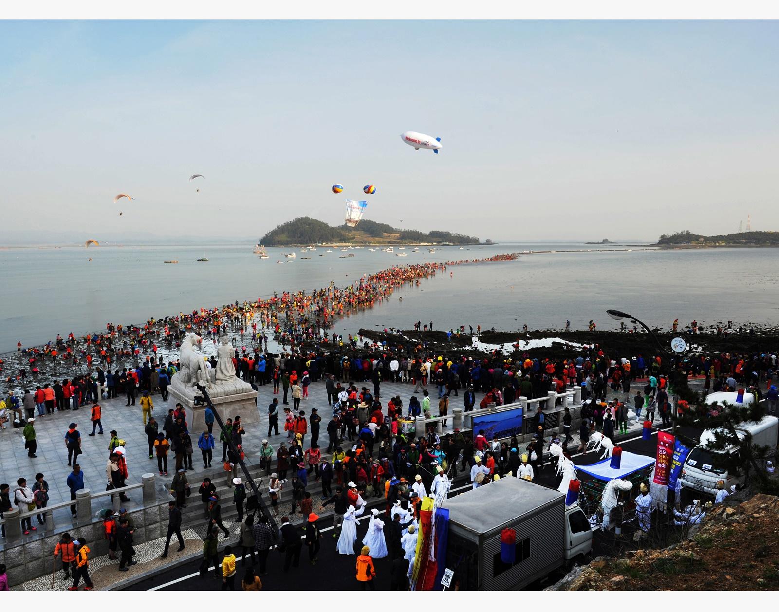 (봄) 2020 진도 신비의 바닷길 축제 - 부산출발